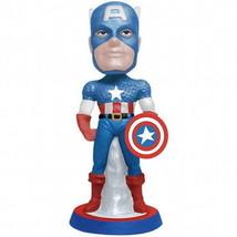Marvel Comics Captain America Mini Bobble Head Figurine 2013, NEW UNUSED - $19.30