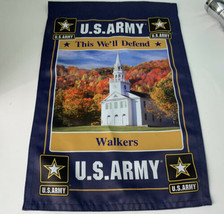 United States Army This We'll Defend Garden Flag 12x18 Church Religion S... - $14.54