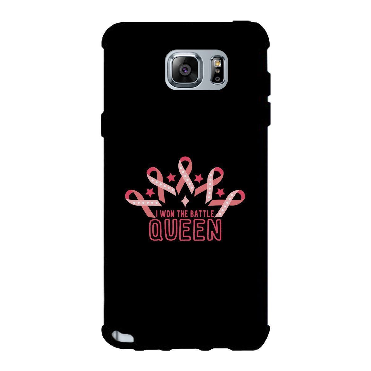 Won The Battle Queen Phone Case Breast Cancer Awareness Gifts