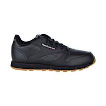Reebok Classic Leather Big Kids Shoes Black-Gum V69623 - $49.95
