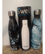 Swell Insulated Stainless Steel Water Bottle 17 oz  EXPRESSIONIST LOT OF 2 - $36.45