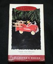 Murray Fire Truck Hallmark Keepsake Cast Metal Ornament Kiddie Car Class... - $9.99
