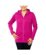 Kirkland Women's Full Zip Hooded Sweatshirt Jacket PINK  Sz S - $16.72