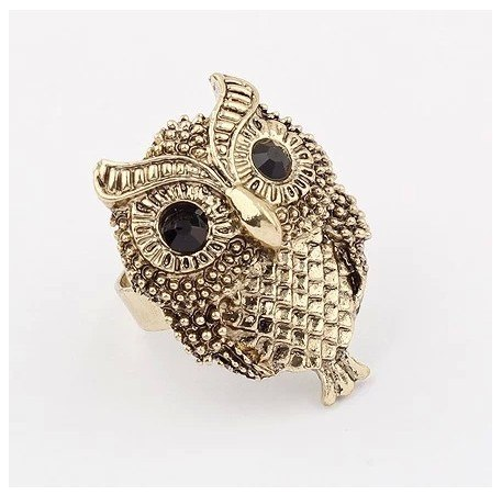Primary image for Personality owl ring vintage punk rings for women jewelry from Reliable ring