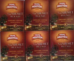 Trung Nguyen Gourmet Blend Ground Coffee 17.6 oz ( Pack of 6 ) - $59.39