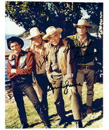 BONANZA - LANDON, GREENE & BLOCKER Signed Autographed Cast Photo w/COA 1317 - $350.00