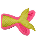 Large Mermaid Tail Silicone Mold, Mermaid Tail Silicone Mold, Mermaid Ta... - $12.00