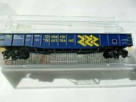 Micro-Trains # 10500191 Ontario Northland 50' Steel Gondola, 14 Panel N-Scale image 1
