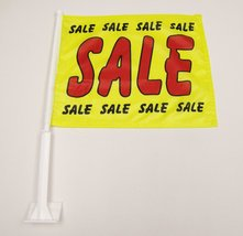 2 (PAK) Premium Dealership Advertising Window Flags Indoor Outdoor Banners - $15.79
