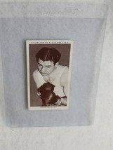 1938 Churchman's Cigarettes Boxing Personalities #28 Jock McAvoy M2 - $4.95
