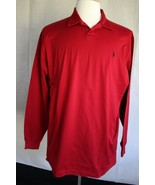 Polo Golf Ralph Lauren Men's Long Sleeve Polo Shirt size L - $19.79