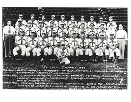1944 St. Louis Browns 8X10 Team Photo Baseball Mlb Picture - $3.95