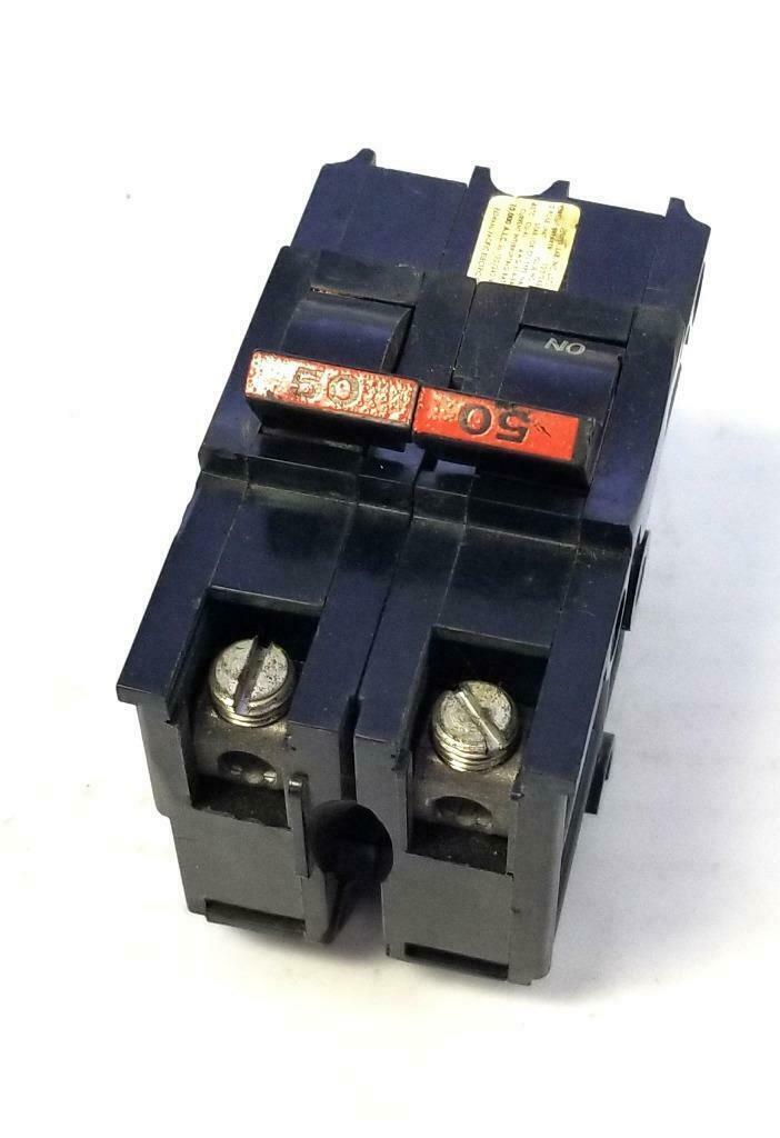FPE Federal Pacific Stab-Lok 40A 2P Circuit Breaker Type NA