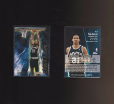 2000-01 Topps No Limit #NL5 Tim Duncan San Antonio Spurs - $1.00