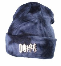 Dope Couture Mineral Waschung Gold Hoch Spannung Beanie