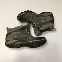 Merrell Womens Siren Waterproof Mid II Thermo Black Hiking Boots Size 6 Gray - $37.95