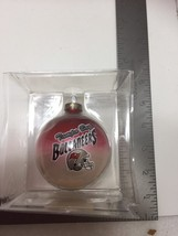 Tampa Bay Buccaneers Football Glass Ornament Ball Christmas 22714 image 2