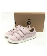 UGG ALIX Size 5 Pink Suede Sneakers SPILL SEAM Womens Shoes 100% Shearli... - $56.05