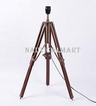 NauticalMart Brown Wooden Table Lamp Base - $98.01