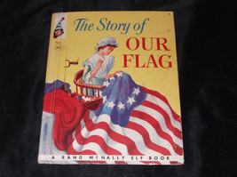 Vtg The Story Of Our Flag Rand Mc Nally Elf Children's Book Hc Illustrated - $4.00