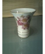 "Vintage Bavaria Schumann Arzberg Germany Wild Rose 4"" Vase - $5.93"