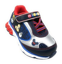 Disney Mickey Mouse Clubhouse Runner Children Kids Light Up Shoes 175435D10 - $12.99
