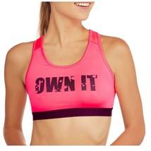 DANSKIN Now Women's Sports Bra Racer Back Moisture Wicking Pink Size M (... - $15.97
