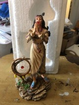 Promise Of Love Indian Woman Figurine Mystical Dreams Collection - $33.25