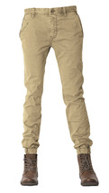 NEW MENS JETLAG WOVEN STRETCH CHINO KHAKI JOGGER PANTS 32 - $79.19
