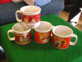 Collectble-Set of 4 Different Design Campbell's... - $6.34