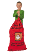 Large Christmas Sacks Personalized For Gifts For Kids For Toys Santa Sac... - $24.95