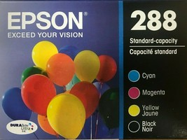 EPSON - 288 - DURABrite Ink Cartridge - Black Cyan Magenta Yellow - $59.35