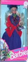DOTW  ENGLISH BARBIE  DOLL 1991  DOLLS OF THE WORLD COLLECTOR ED #4973 NRFB - $24.70