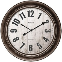 "Westclox 32931AW 15.5"" Wall Clock with Antique Bronze Finish - $31.90"