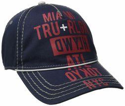 True Religion Men's World Tour Cities Print Baseball Trucker Hat Cap TR1952 image 4