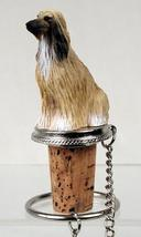 Afghan Tan & White Bottle Stopper - $14.99