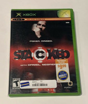 Stacked With Daniel Negreanu Game (Microsoft Xbox, 2006) - preowned - $0.98