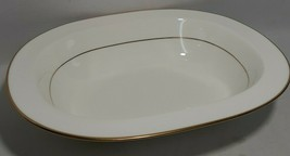 """PURITY GOLD by Noritake Open Vegetable Serving Bowl Dish 10.5"""", Made in ... - $43.64"""