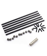 BIQU 200mm Kossel K800 Dedicated Carbon Fiber Arms Rod Set for 3D Printer - $25.03