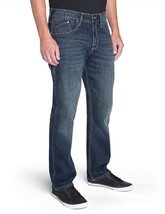 New ROCK & REPUBLIC Size: 32x34 STRAIGHT FIT JEANS Blue Wash - $59.99