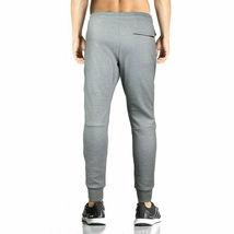 Men's Athletic Running Sport Workout Fitness Gym Zip Pocket Jogger Sweat Pants image 8
