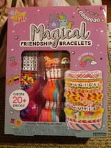 Just My Style Magical Friendship Bracelets Kit w/ Suction Tool & Instruc... - $18.02