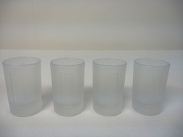 4 Jagermeister Frosted 1 oz Shot Glasses With S... - $11.76