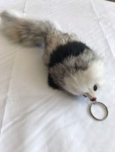Mouse Key Chain Soft Furry Backpack Wild Farm Auto Children Soft Cuddly ... - $4.26