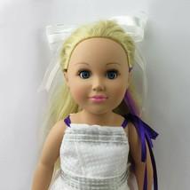CityToy My Life Doll Blonde Blue Eyes handmade dress & grown 18in - $39.00