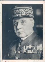 1938 Photo General Marie Gustav Gamelin Chief Staff Paris France Militar... - $23.23