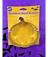 Wilton Halloween Cookie Cutter Pumpkin Professional Type Stainless Steel... - $9.89