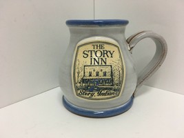 Deneen Pottery The Story Inn Story, Indiana 12 oz. Hand Thrown Coffee M... - $16.69
