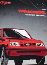 1993 Gm Chevy Geo Tracker Service Shop Repair Workshop Manual Oem Factory Gm - $59.35