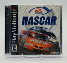 NASCAR 2001 (Sony PlayStation 1 PS1, 2000) Complete in Box Clean Disc EA Sports - $13.74